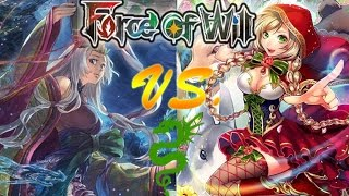 Force of Will (TCG) Feature Match: True Little Red Fairy Tale Aggro Vs. Kaguya 1.0 Standby Control