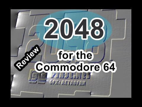 2048 for the Commodore 64  Review
