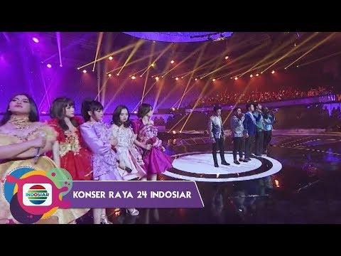 JEGER!! Tonton Semua Penampilan 24 Diva Divo di Konser Raya 24 Indosiar yuk!