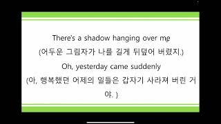 영어팝송 19주차 동영상