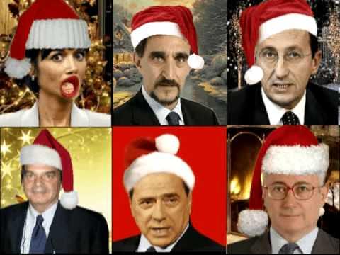 Auguri dai politici a tutti gli italiani youtube for Lista politici italiani