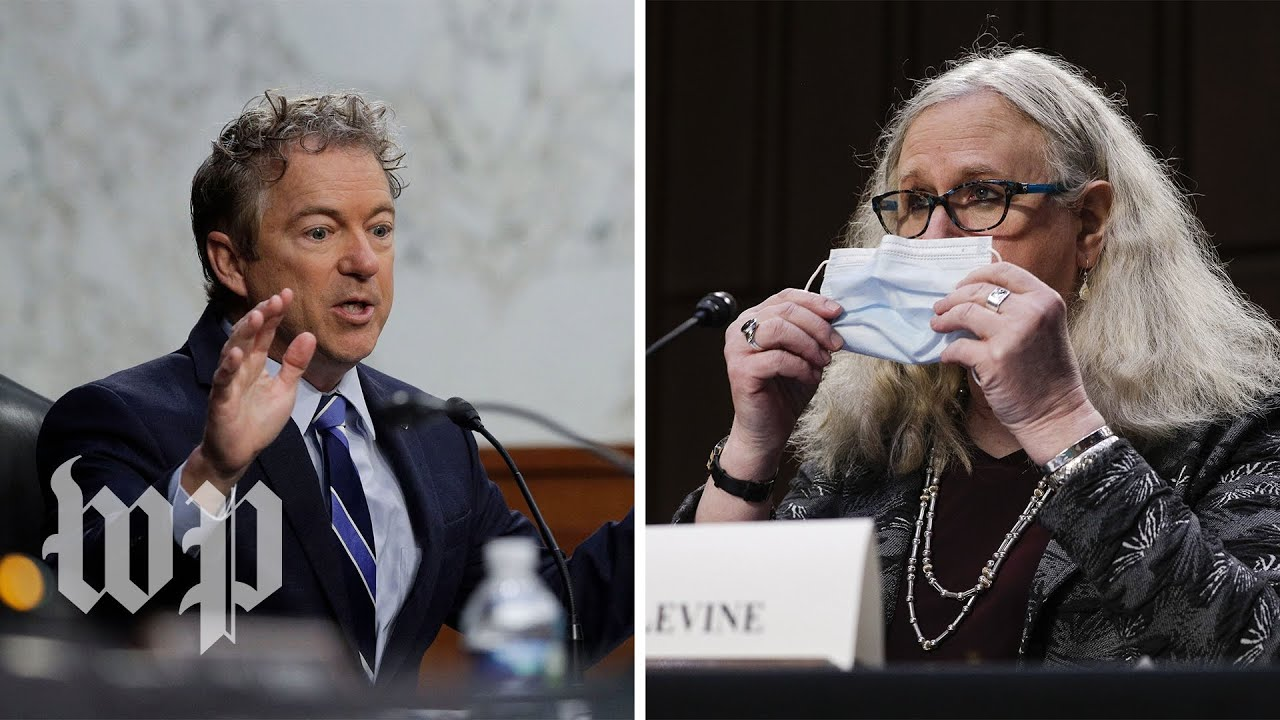 Rand Paul questions Rachel Levine on hormone therapy, gender reassignment for minors