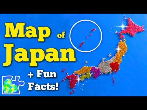 MAP Of JAPAN || Eight Regions Of Japan || Fun Facts || World Geography
