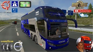 Euro Truck Simulator 2 (1.35)   Volvo Comil/Invictus DD Bus BR Skins Germany Travel + DLC's & Mods https://ets2.lt/en/volvo-comil-invictus-dd/  Support me please thanks Support me economically at the mail vanelli.isabella@gmail.com  Roadhunter Trailers He