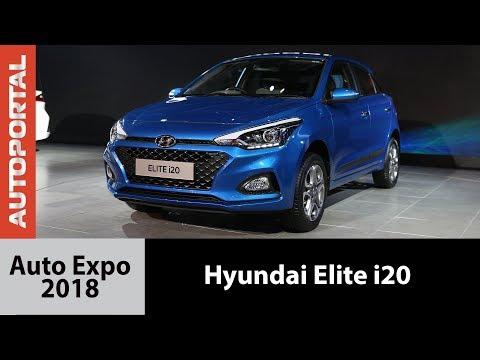 2018 Hyundai Elite i20 at Auto Expo - Autoportal