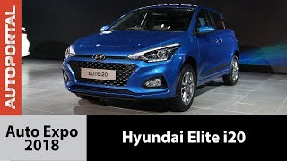2018 Hyundai Elite i20 at Auto Expo - Autoportal