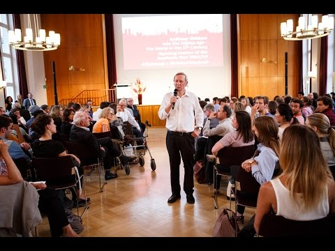 Anthony Giddens opens the Academic Year 2015/16 at the Hertie School