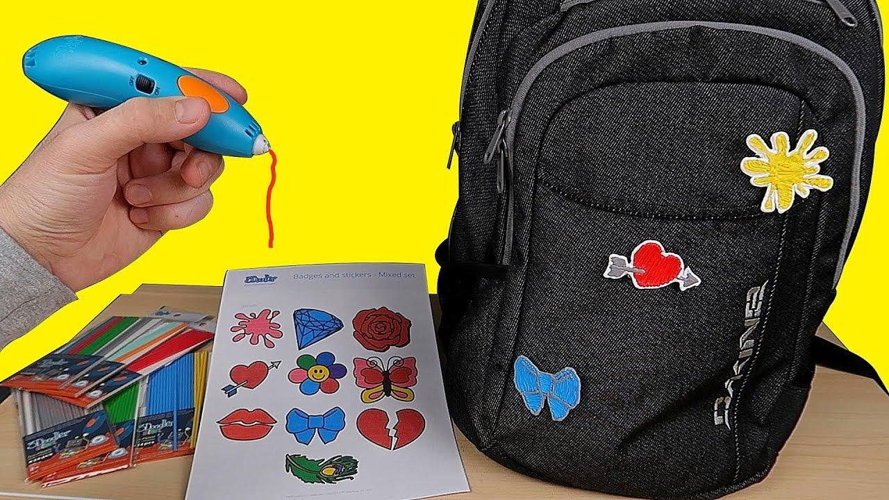 3D РУЧКА! Подарок на День Влюбленных своими руками. Подарок на 14 февраля. DIY alex boyko #1