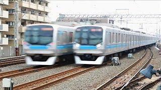 【およそ100キロの高速通過】東京メトロ東西線 葛西駅を行き交う様々な車両。 05系 07系 15000系 2000系