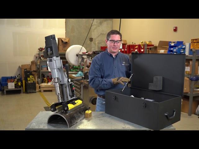 Disimballare MagDrill Disruptor 55 | Tecnologia Magswitch