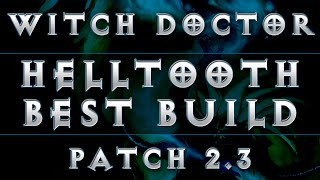 Diablo 3 - Witch Doctor Best Helltooth Build (Patch 2.3)