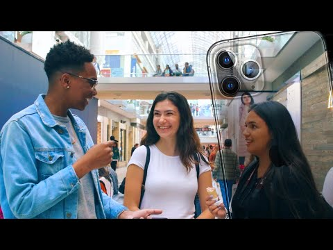Asking Strangers What They Think About IPhone 11