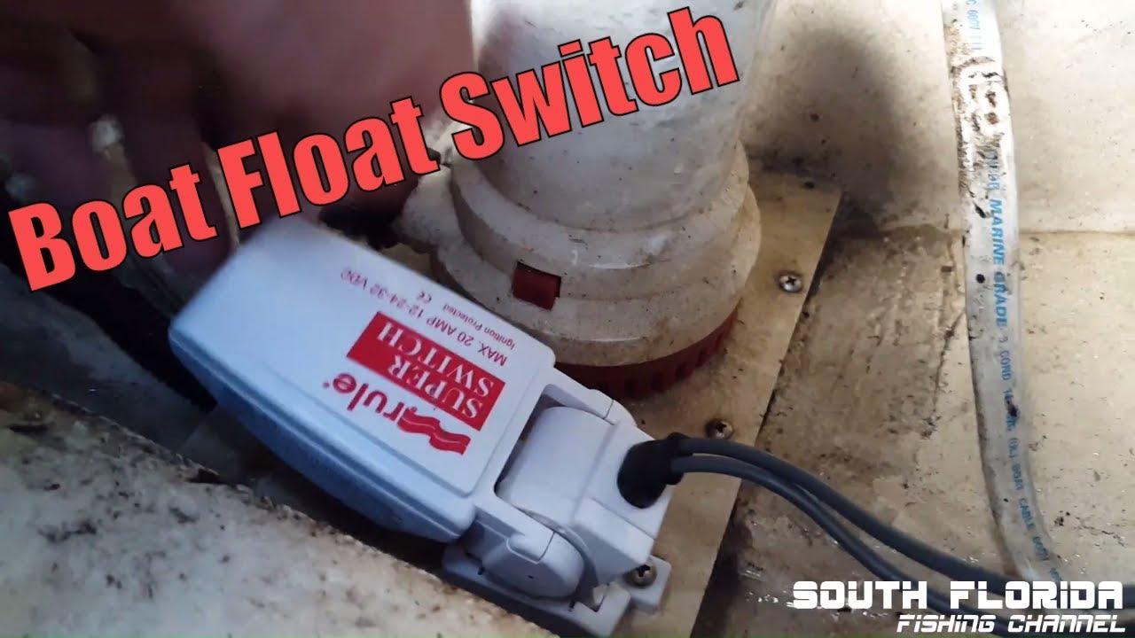 Rule Bilge Pump Float Switch SuperSwitch