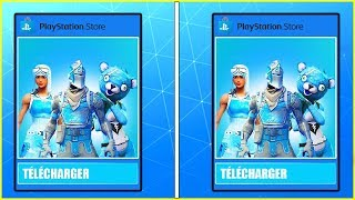 OBTENIR FREE THIS NEW PACK Frozen Renégate Raider On FORTNITE!