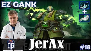 JerAx - Earth Spirit Roaming | EZ GANK | Dota 2 Pro MMR  Gameplay #18
