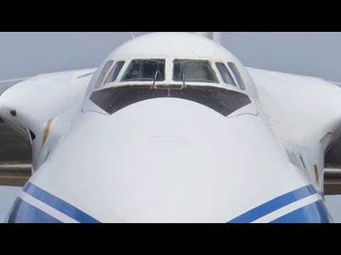 One of world's LARGEST AIRCRAFT – the ANTONOV AN-124-100 – assists in hurricane relief efforts!