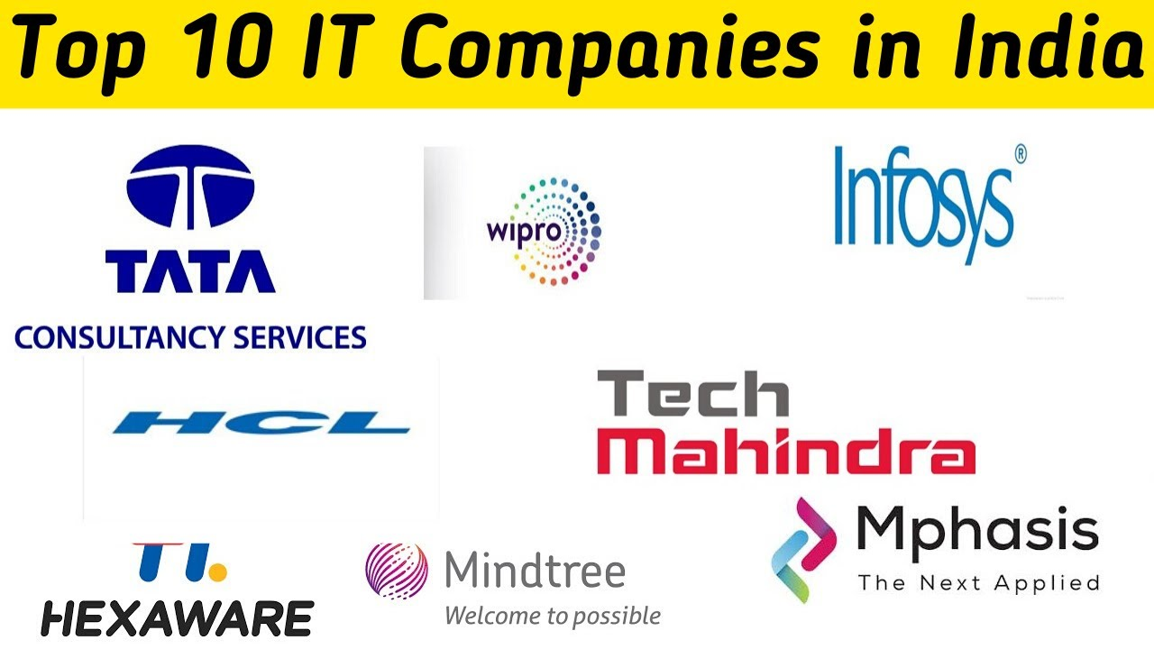 Top 10 It Companies In India 2020 Information Technology Companies In India Best It Companies Youtube