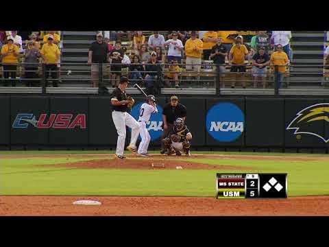 Southern Miss Baseball vs Mississippi State Game 3  - 02.18.18