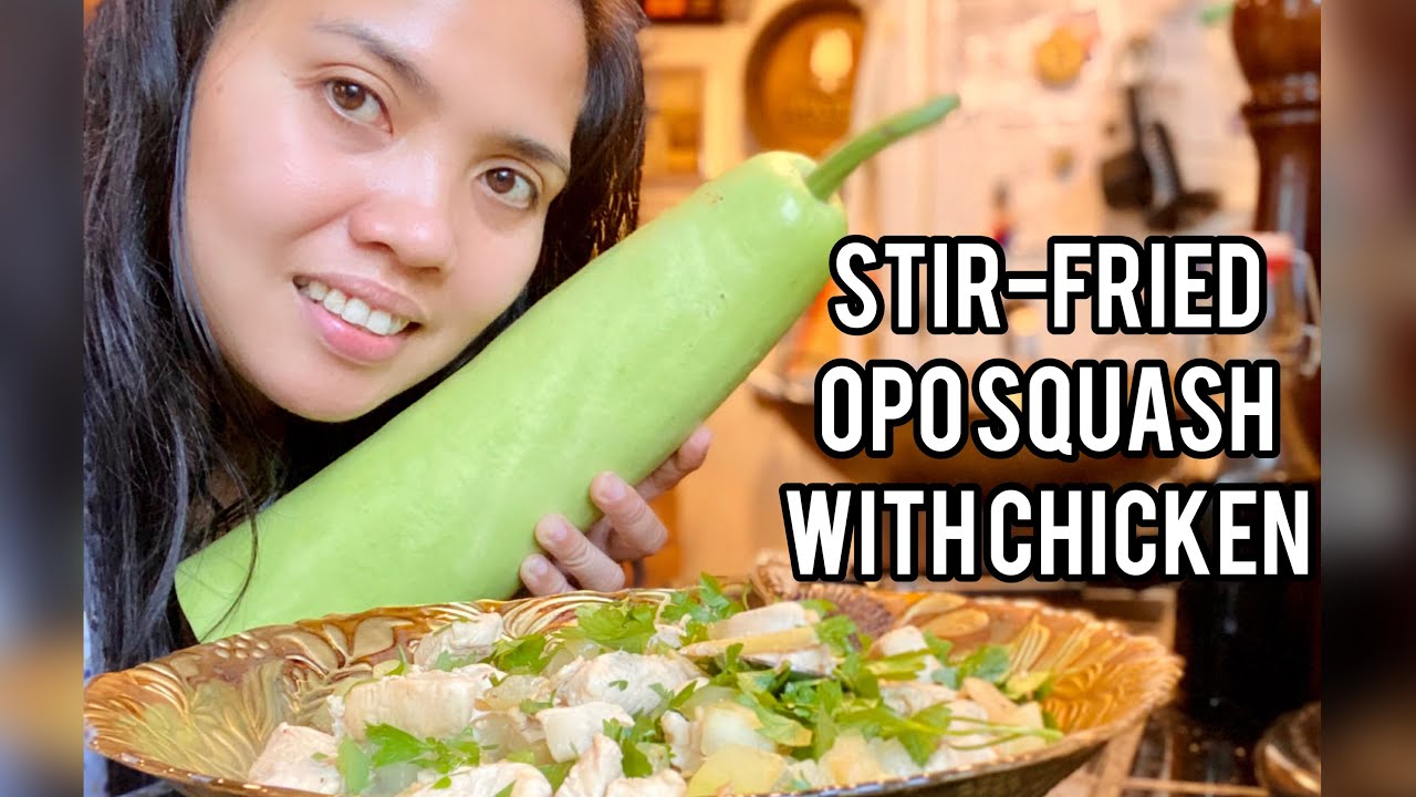 Download Stir-fried Opo Squash with Chicken // From Garden to Plate!