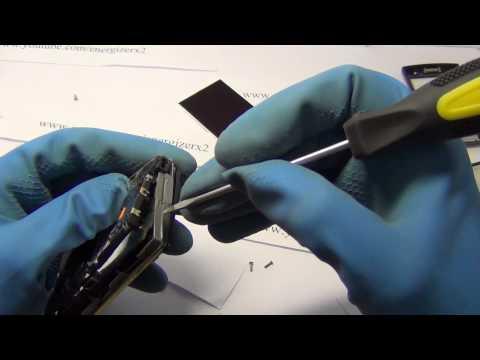 SONY ERICSSON XPERIA X10 MINI PRO U20i Disassembly Energizerx2