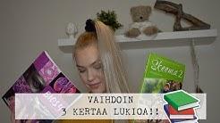 VAIHDOIN LUKIOA 3 KERTAA  // STORYTIME