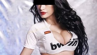 Top sexy real madrid fans: football summer 2016