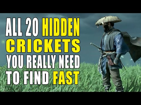 Ghost of Tsushima Singing Crickets Locations | How To Find & Change Weather | GameClubz