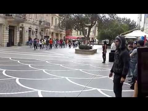 Baku flashmob 11.10.14