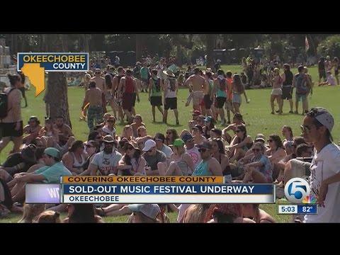 Sold out Okeechobee Music Festival underway