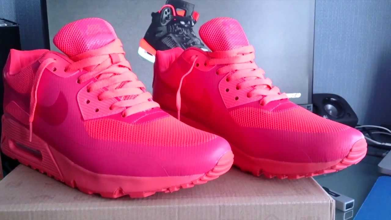 0224b0c9f2cb Nike Air Max 90 Hyperfuse Independence Day Red