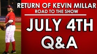 4TH OF JULY Q&A - Road to the Show - Kevin Millar: Episode 28 - MLB 13: The Show