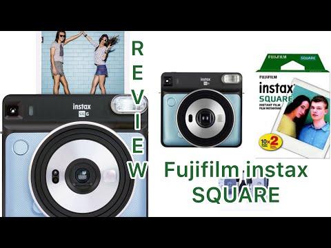 MY NEW Fujifilm Instax SQUARE SQ6 REVIEW    Amarah&Joshua