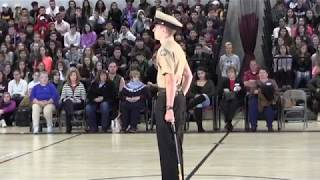 4th Annual Bethel High School NJROTC Veterans Day Ceremony / Officials and Military Enter