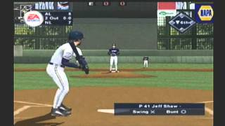 TRIPLE PLAY 2002 ALL-STAR GAME video game simulation