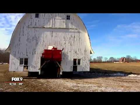 Tow-Arnett brothers give new life to old barn in Jordan, Minnesota