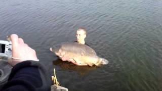 Karp 33 kg Rekord Polski Jarosławki 03.04.2011 cz.2 thumbnail
