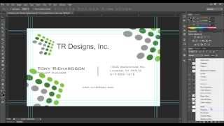 Business Card Tutorial - Create Your Own - Photoshop