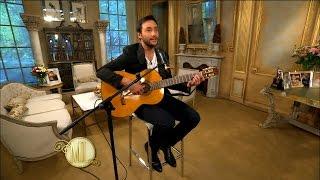Luciano Pereyra enamoró con un emotivo show acústico