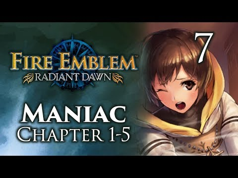"""Part 7: Let's Play Fire Emblem Radiant Dawn, Maniac Mode, Chapter 1-5 - """"Cipher Edition"""""""