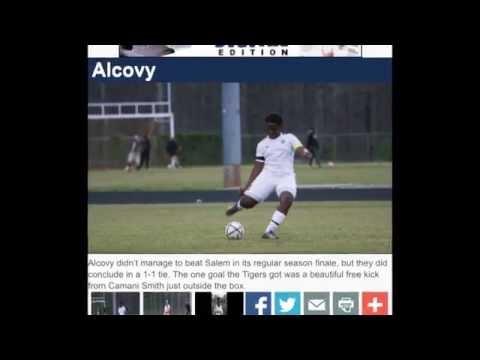 Camani Smith Soccer Highlight Alcovy High School
