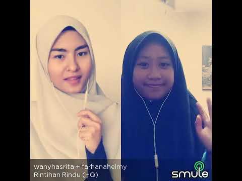 Rintihan rindu - wany hasrita ft farhana helmy cover