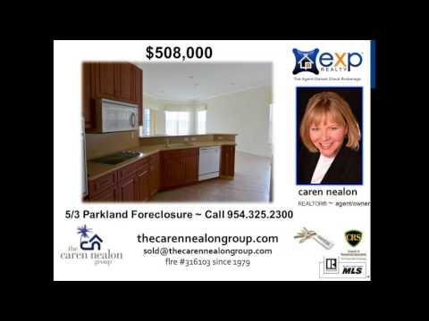 Parkland Foreclosure 5 BR 3 BA in Park Trails Elementary School District