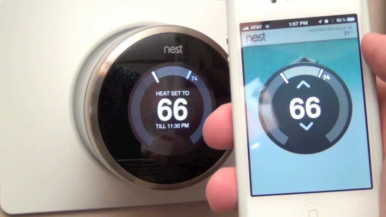 nest learning thermostat unboxing review youtube. Black Bedroom Furniture Sets. Home Design Ideas