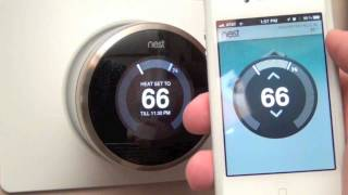 Nest Learning Thermostat: Unboxing & Review