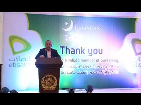 Etisalat Afghanistan VHV Iftar Event