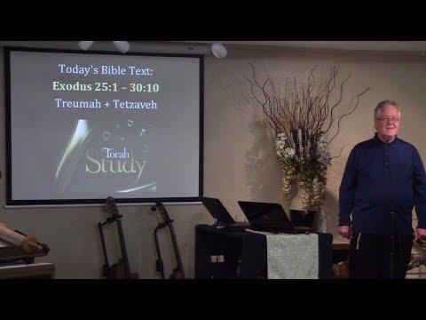 Fasincating Parallels Between the Tabernacle and Messiah – Torah Study, Exodus 25:1 – 30:10