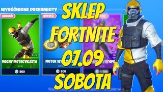 Fortnite 07.09 Magasin-nouveau motard skin tough, hang-glider stunt Motor with leg legs, expert