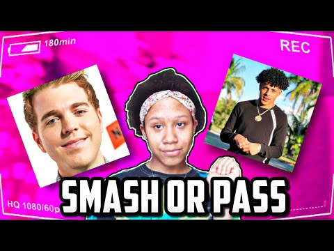 SMASH OR PASS??! (MALE YOUTUBERS EDITION) 😍😲😱