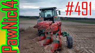 Poprzeczniak, test resorów w pługu, koniec sezonu prac polowych - Życie zwyczajnego rolnika #491