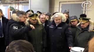 Министр обороны Сергей Шойгу посетил тульский «Сплав»